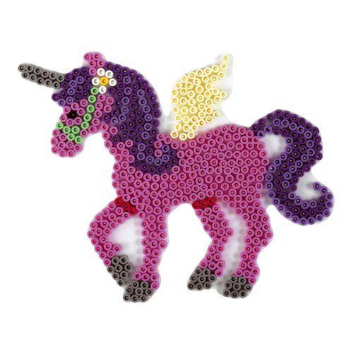 Hama 281 Stiftplatte für Bügelperlen Pferd