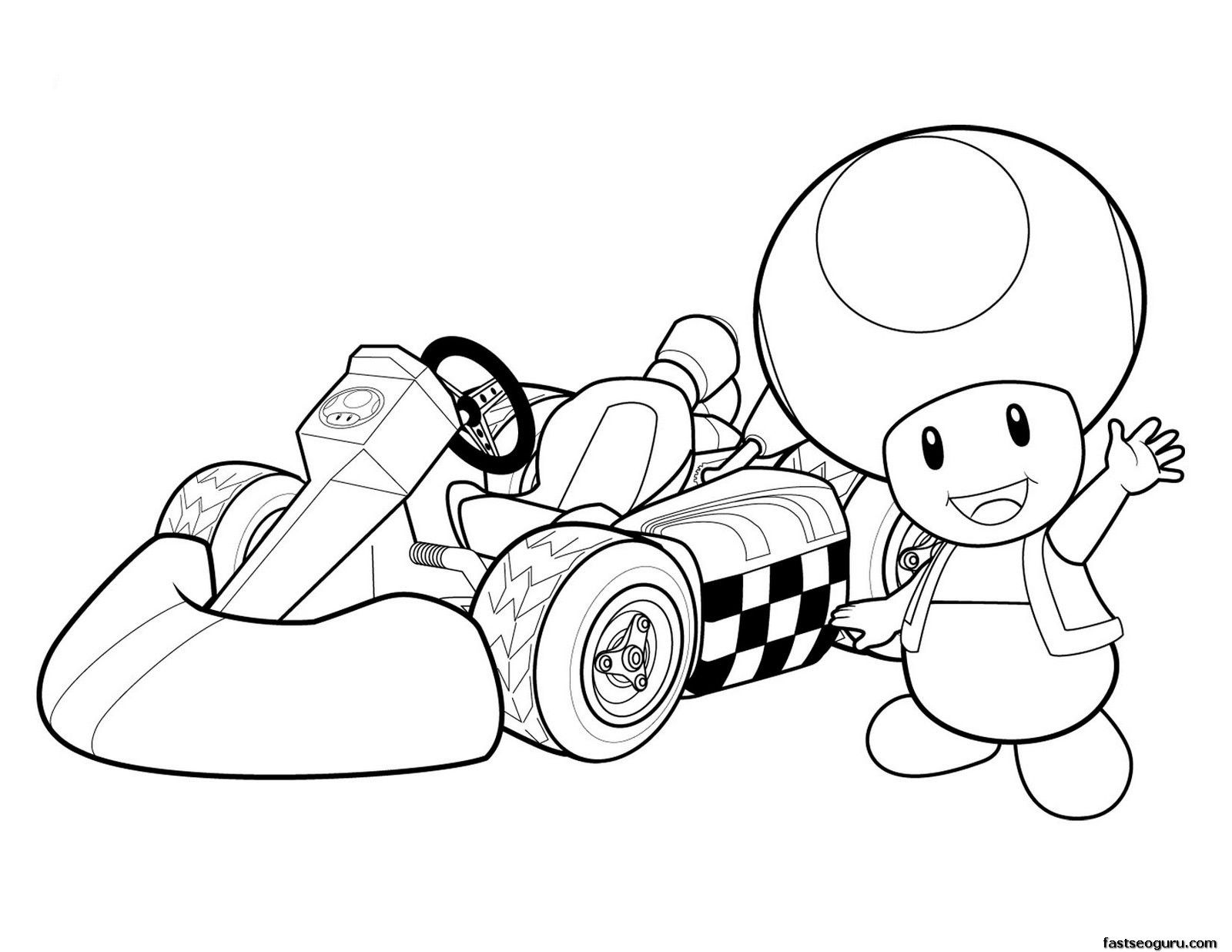 Print Out Super Mario And Toad Coloring Pages Mario Coloring Pages Super Mario Coloring Pages Coloring Pages