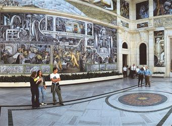 When in the D you must see the DIA and the grand mural by Diego Rivera, the finest work by a Mexican muralist in the United States.