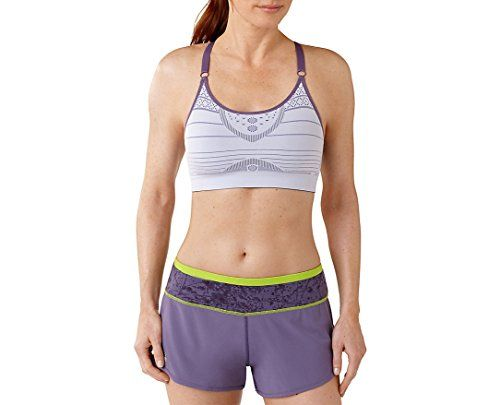 Smartwool Women's PhD? Seamless Strappy Form Fit Bra Iris Sports Bra MD *  Be sure to check out this helpful article. | Yoga Bras | Pinterest | Yoga  bra, ...