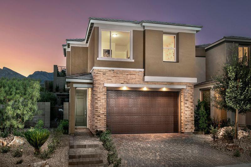 New Homes Las Vegas Nv 89138 376 990 3 Beds 2 Full Baths 1 Half Bath 1787 Sq Ft Call 702 720 2660 Newhomes Lasve In 2020 New Homes Las Vegas Kb Homes New Homes