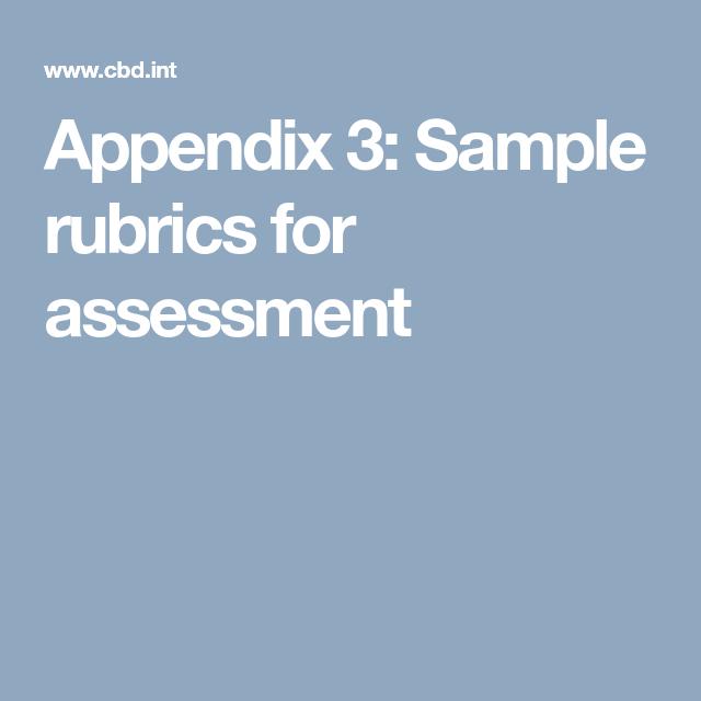 Appendix  Sample Rubrics For Assessment  Public Speaking