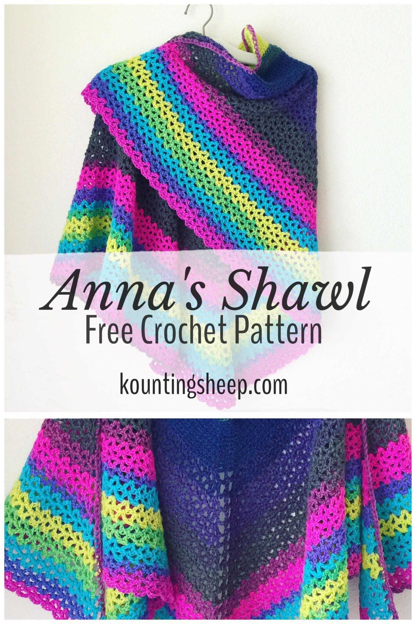 Annas Shawl Free Crochet Pattern Free Crochet Patterns