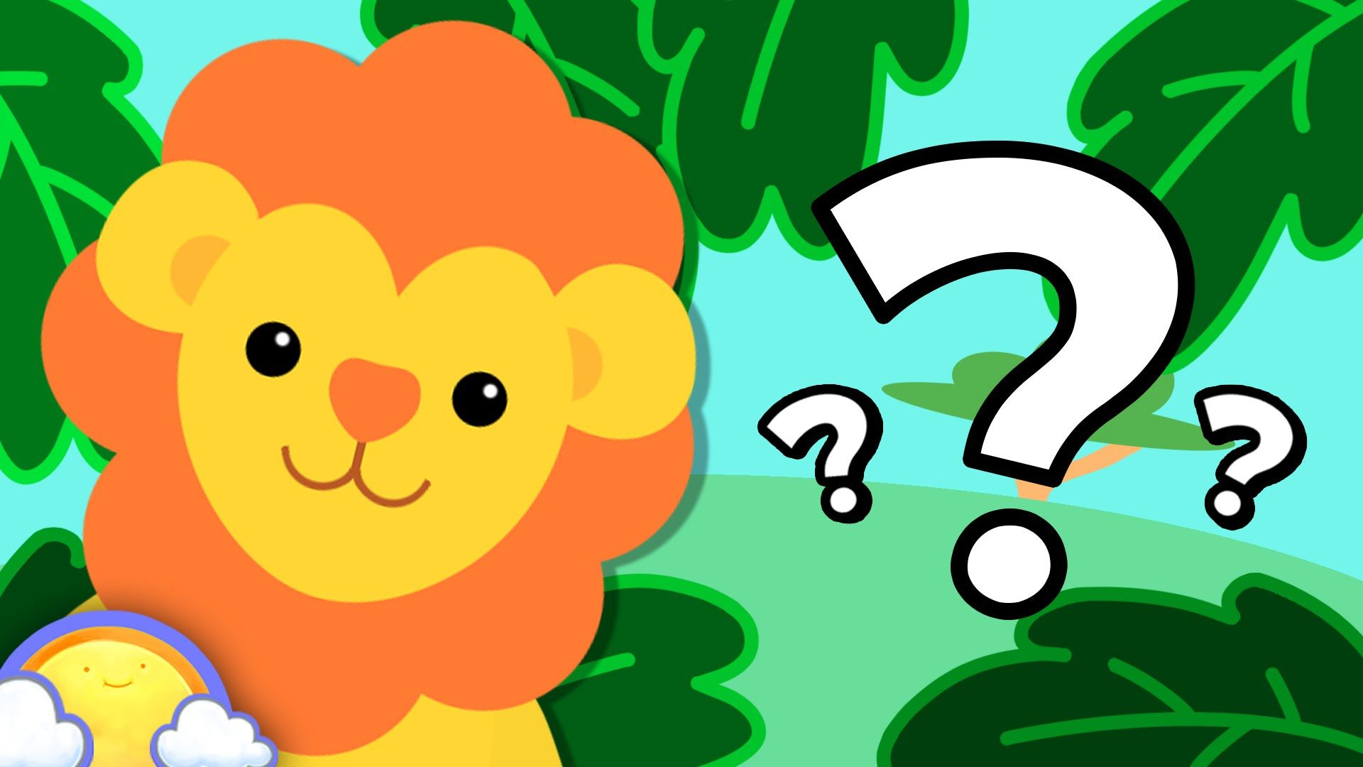Zoo Animals Game Guessing Game for Kids! CheeriToons