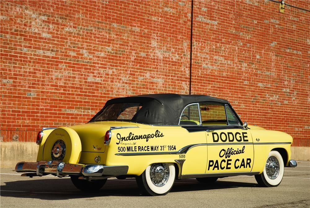 1954 DODGE ROYAL INDIANAPOLIS 500 PACE CAR CONVERTIBLE