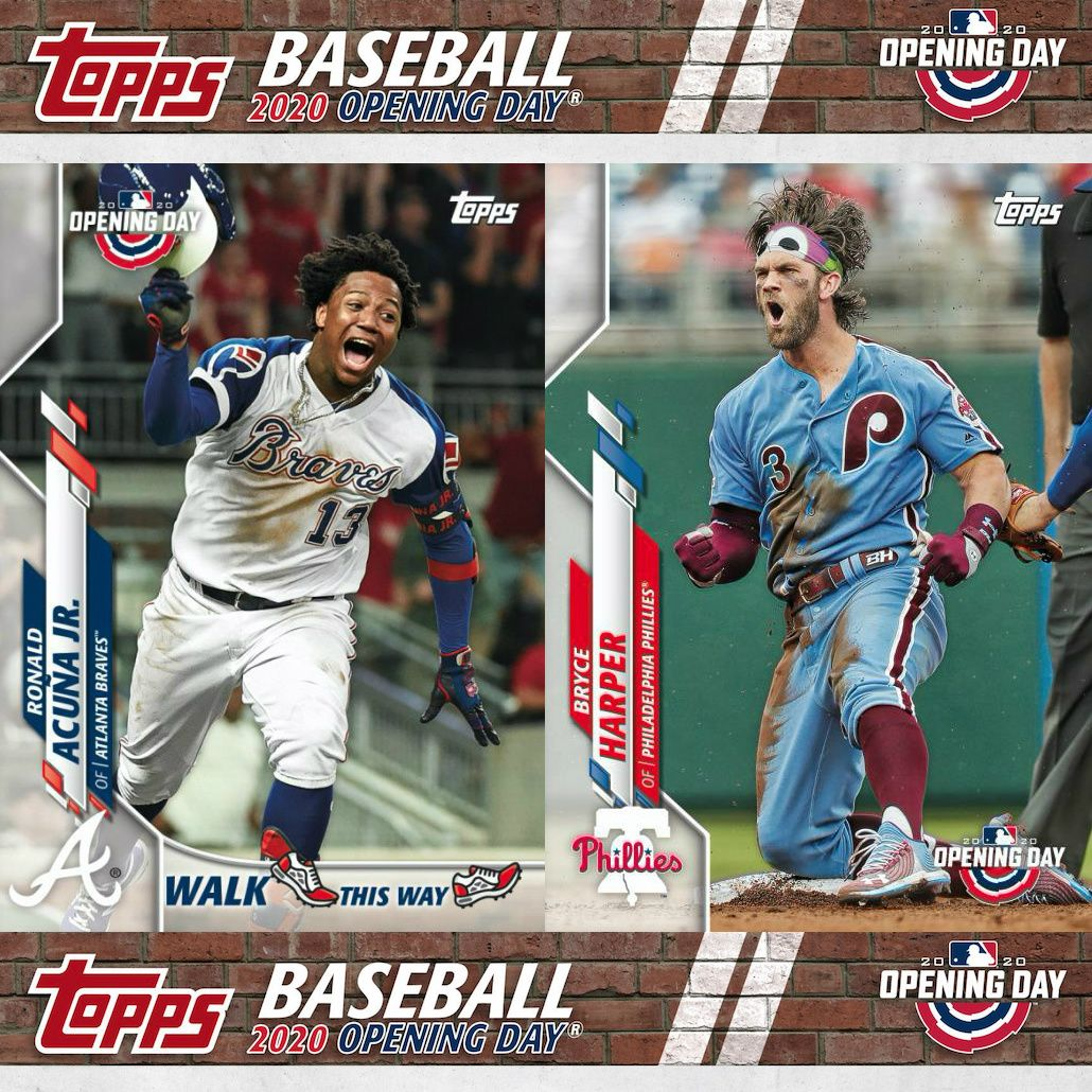 2020 Topps Opening Day Baseball Checklist Set Details Boxes Reviews Opening Day Baseball Baseball Baseball Cards