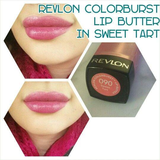 Revlon color burst lip butter in sweet tart
