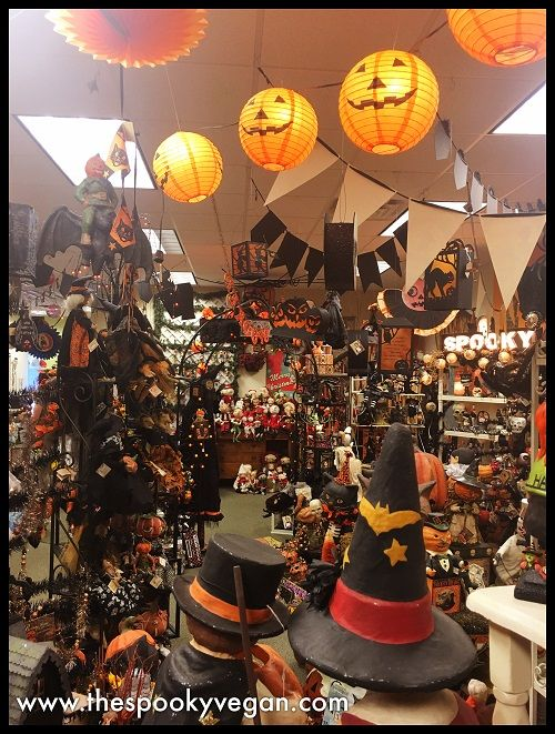 Traditions Holiday Store's Halloween Displays