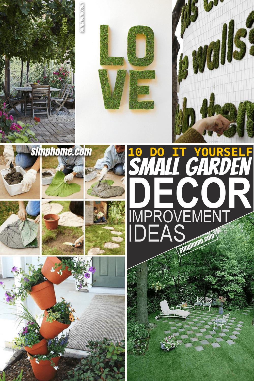 9 Creative and Unique Small Garden Decor Ideas - Simphome in 9