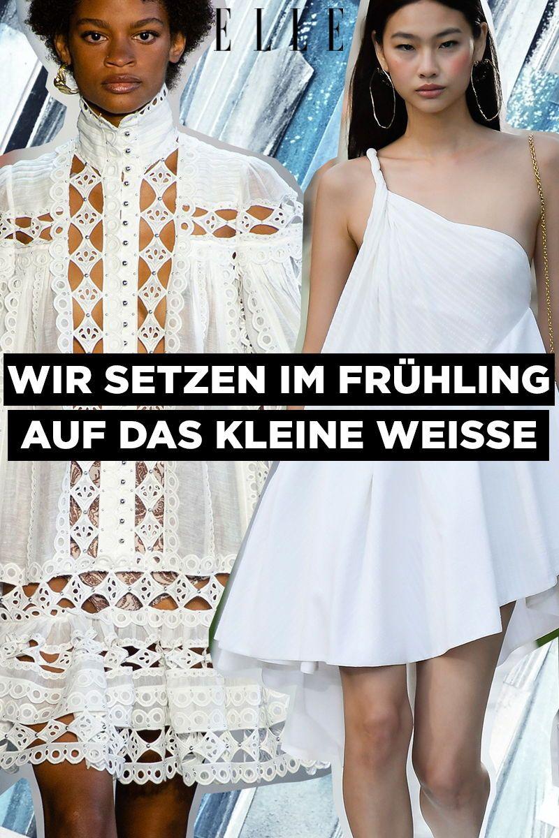 Den Kleider Weiße Für Trends Der Trend 2019Mode Frühling Sind gbv76yYf