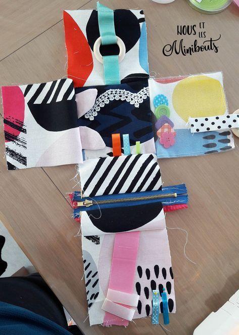 DIY couture : Le cube déveil – Tutoriel – Nous et les minibouts