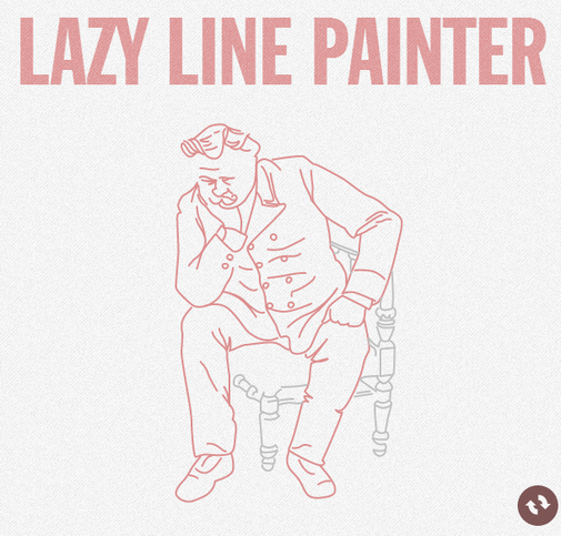 Lazy Line Painter is a jQuery plugin which allows you to