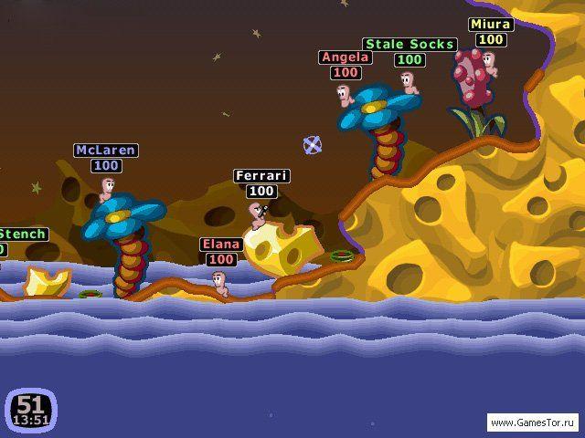 Вормикс игра скачать бесплатно на компьютер торрент