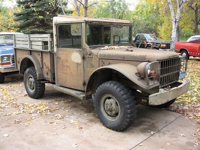 Dodge M37 34 Ton 4x4 Dodge Dodge Dodge Trucks 4x4