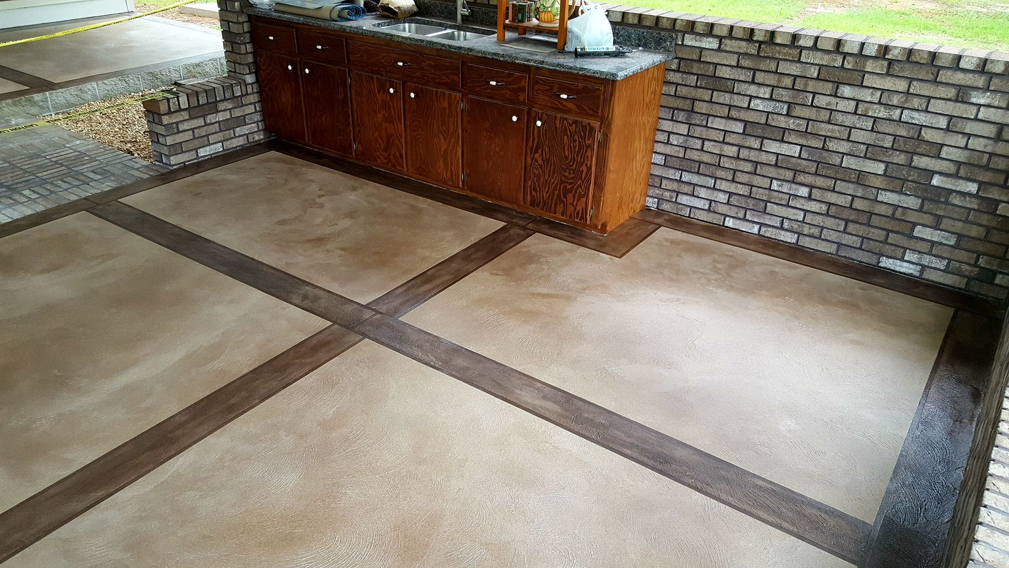 Cti Acrylistain System Concrete Decor Concrete Floors Decor