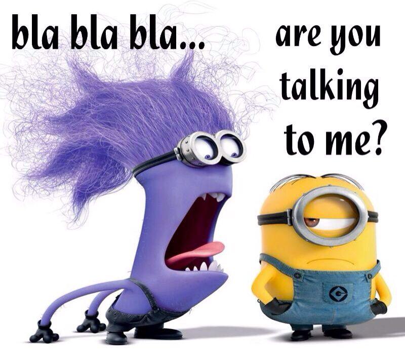 Purple Minion Memes Funny: How I Feel When Certain People Talk.