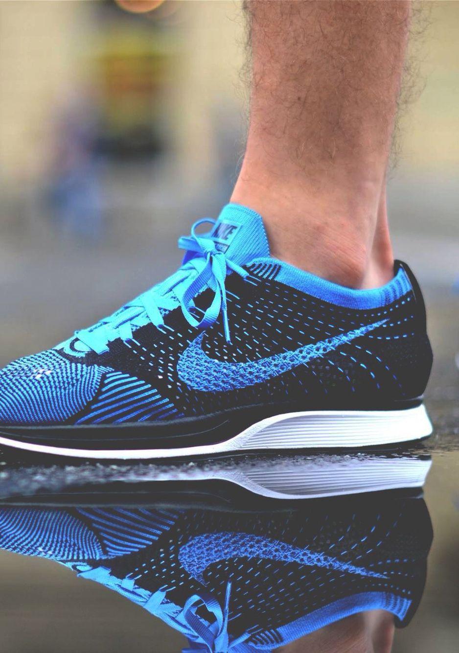 a5e0a4c27e7b Nike Flyknit Racer  Blue Black