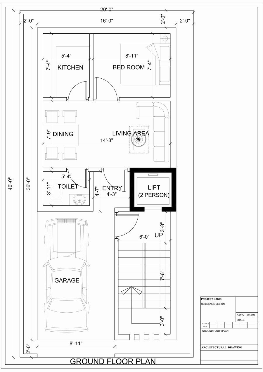 18 X 36 House Plans Best Of House Plan For A Small Space Ground Floor 2 Floors Unique House Plans Ground Floor Plan Floor Plans