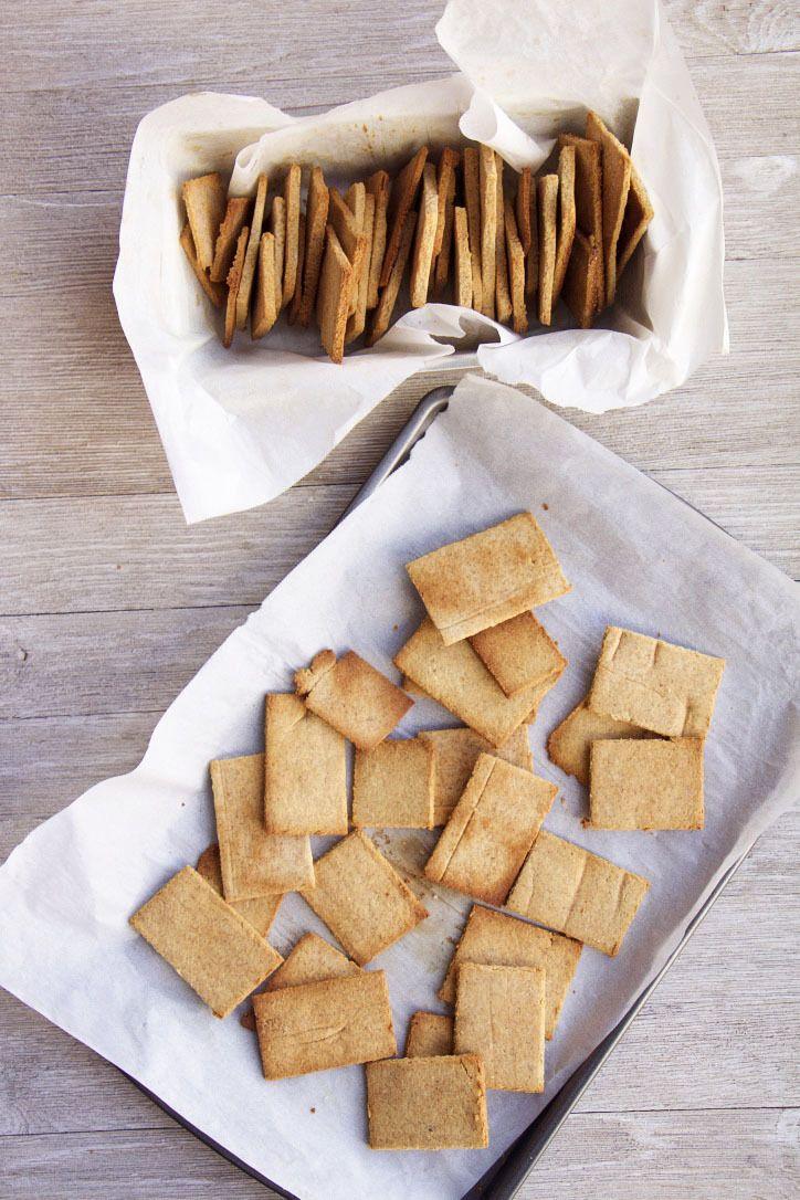 Fallinspired graham crackers gf paleo dairyfree