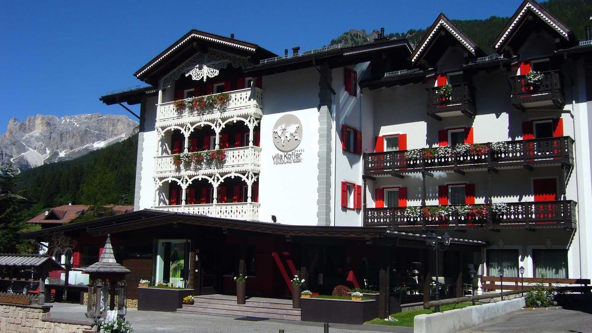 Pin su Charme hotel Villa Kofler Wonderland Resort