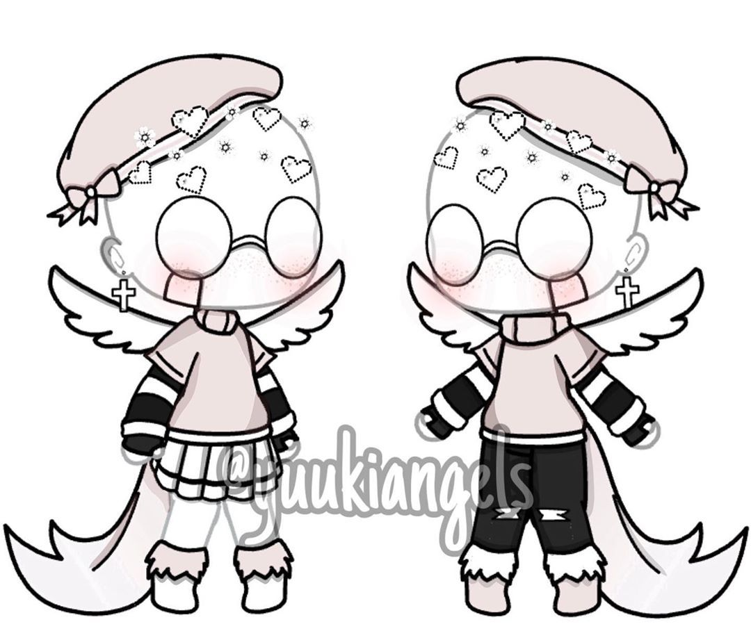 Umm Soft Outfits I Guess Xd What S Your Favorite Color Gachalife Gacha Gachaedits Character Outfits Anime Outfits Clothing Sketches