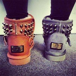 Studded Ugg boots :D | Boots, Ugg boots