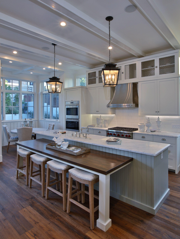 Luxury Modern White Coastal Kitchen White Coastal Kitchen White Modern Kitchen Luxury Kitchen Decor