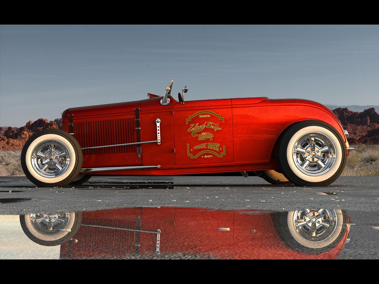 1929 1932 Ford Roadster By Zolland Design Static 1 1280x960 Wallpaper Ford Roadster Hot Rods Cars Muscle 1932 Ford Roadster