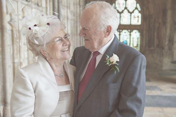 Cute older couple wedding portrait - Picture by Camilla Rosa ...