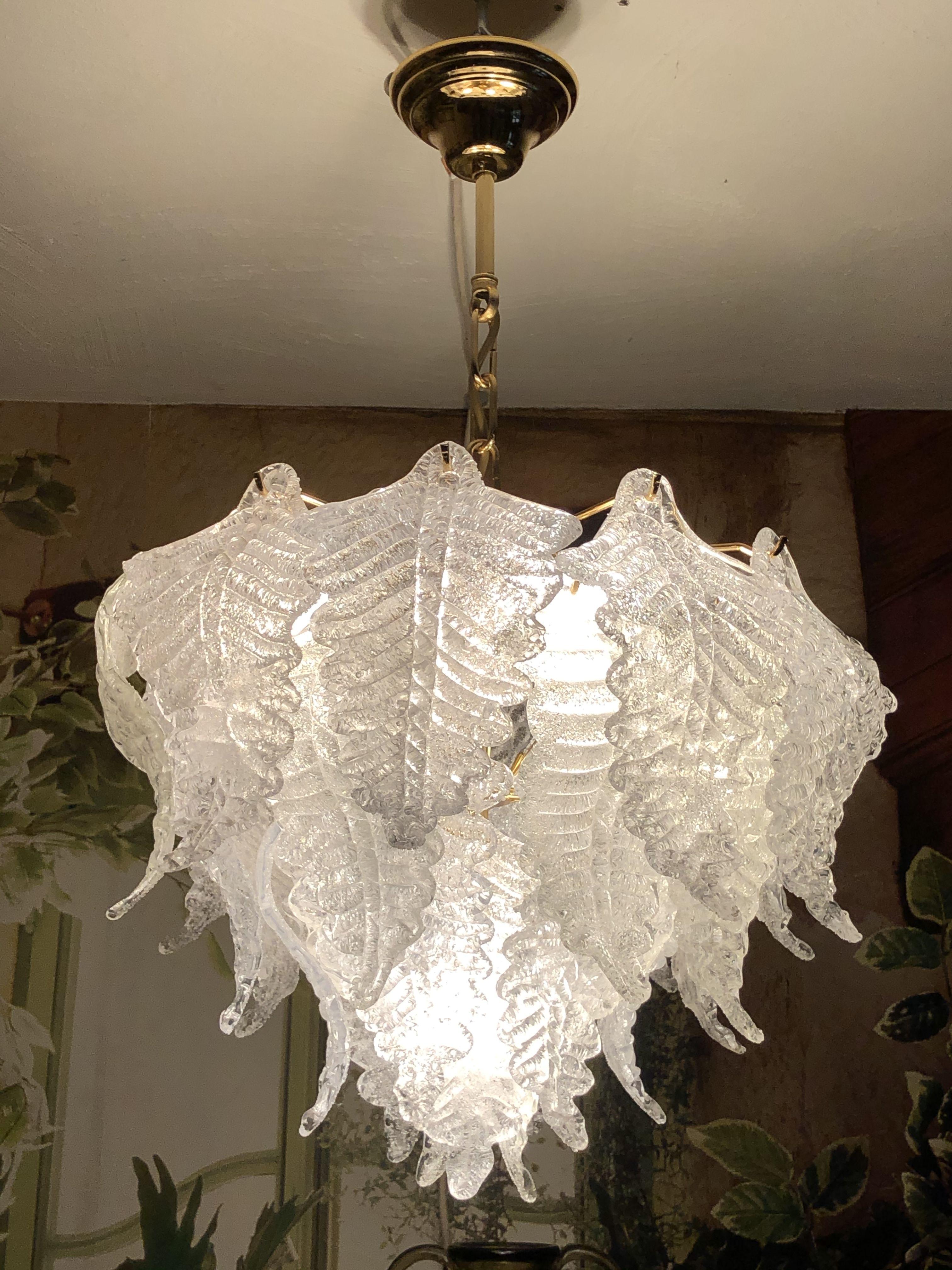 Mid Century Murano Barovier Toso Deckenlampe Deckenlampe Lampe Decke