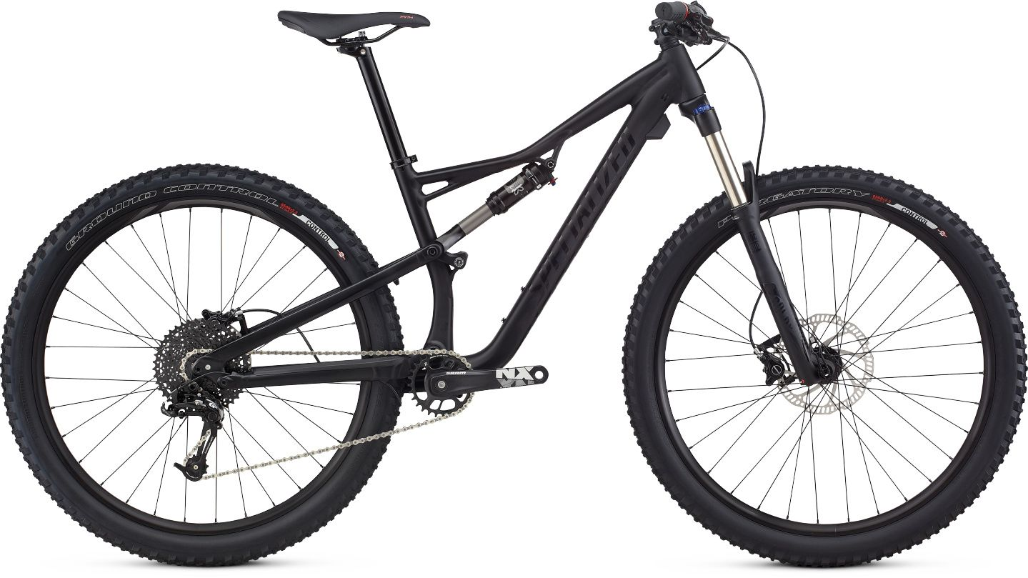 Specialized Camber 2017 Womens Full Suspension Mountain Bike Black