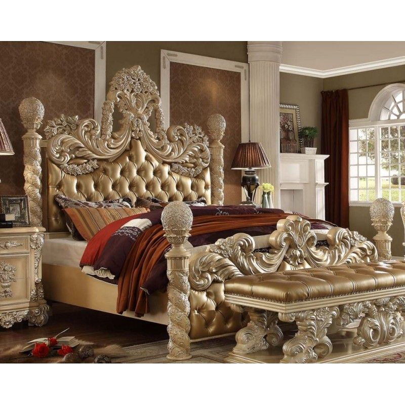 Hd 7266 Homey Design Bedroom Set Victorian European Clic Sofa Ideas For The House Pinterest And