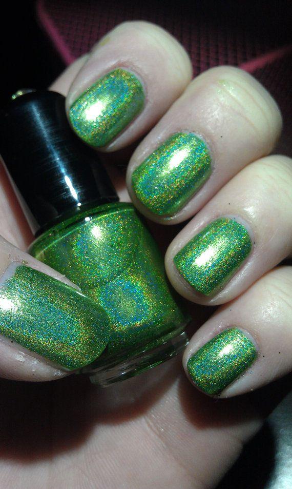 Martian Salad - Mini | Chrome nails, Nail polish colors and Makeup