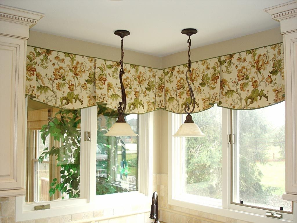 Curtain valances to your draperies allow them to hang properly and