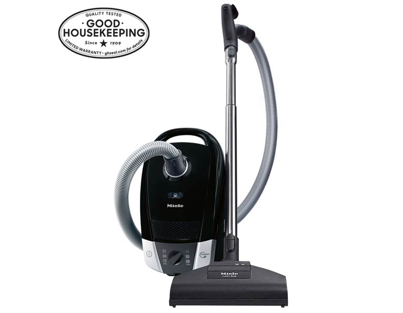 The Miele C2 Compact Onyx Offers A Convenient And Powerful Vacuum Cleaner In A Compact Canister Design The Onyx Uses Mi Canister Vacuum Canister Vacuums Miele