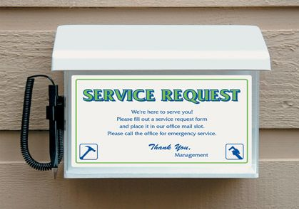 Stock Maintenance Request Box CSH Pinterest - service request form