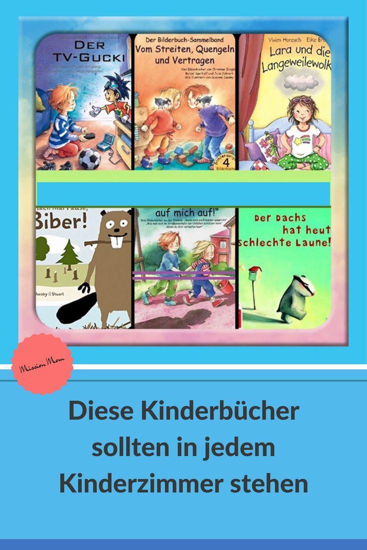 Diese 6 Kinderbücher solltest du kennen, liebe Mama! * Mission Mom