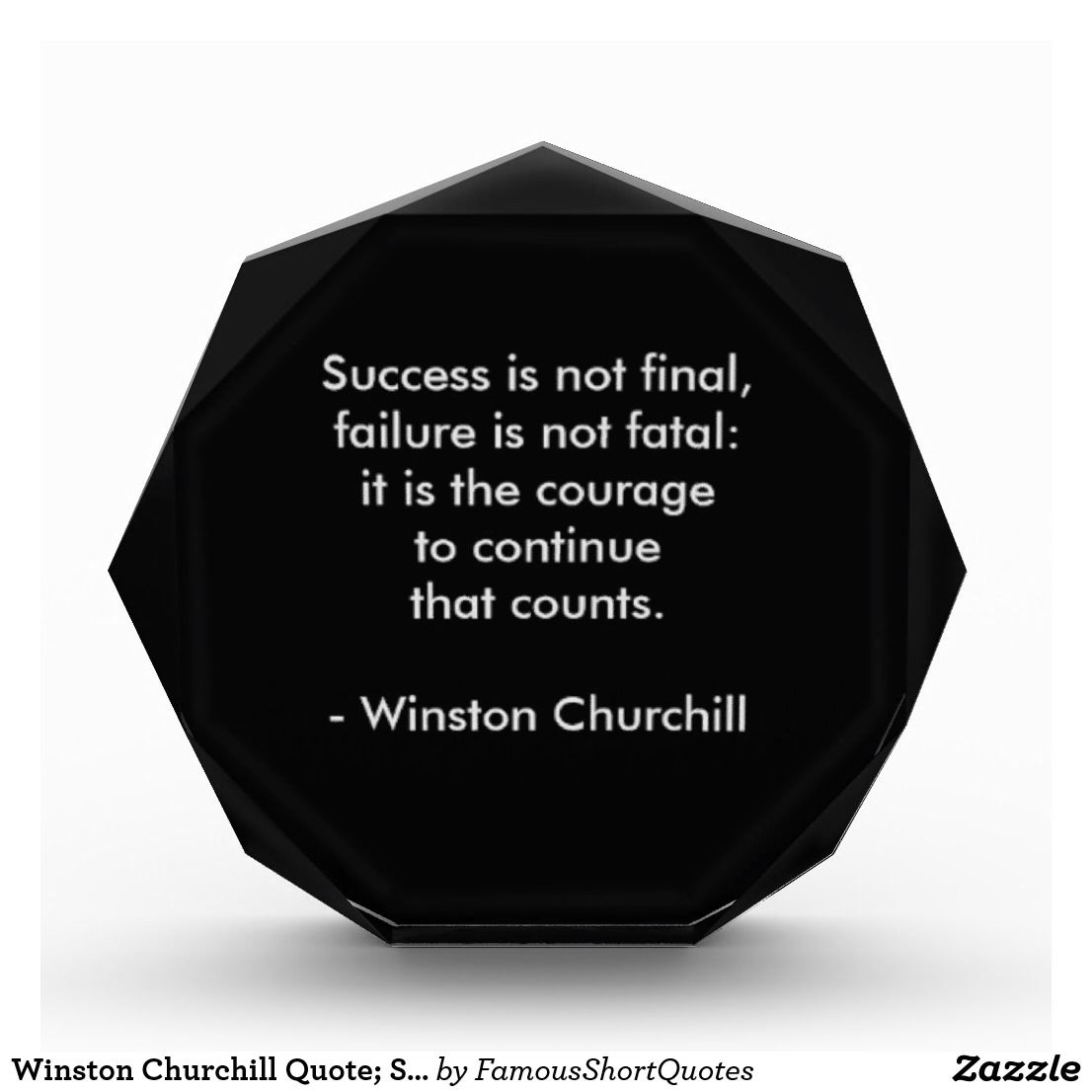 Famous Quotes About Success Winston Churchill Quote Success Award  Famous Short Quotes .