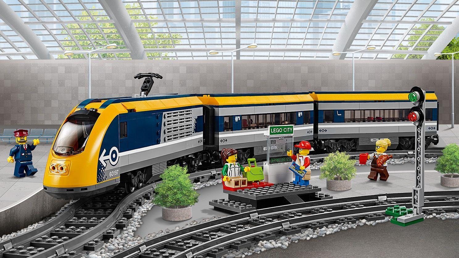 Lego City 60197 Passenger Train Lego City Sets Train Lego City