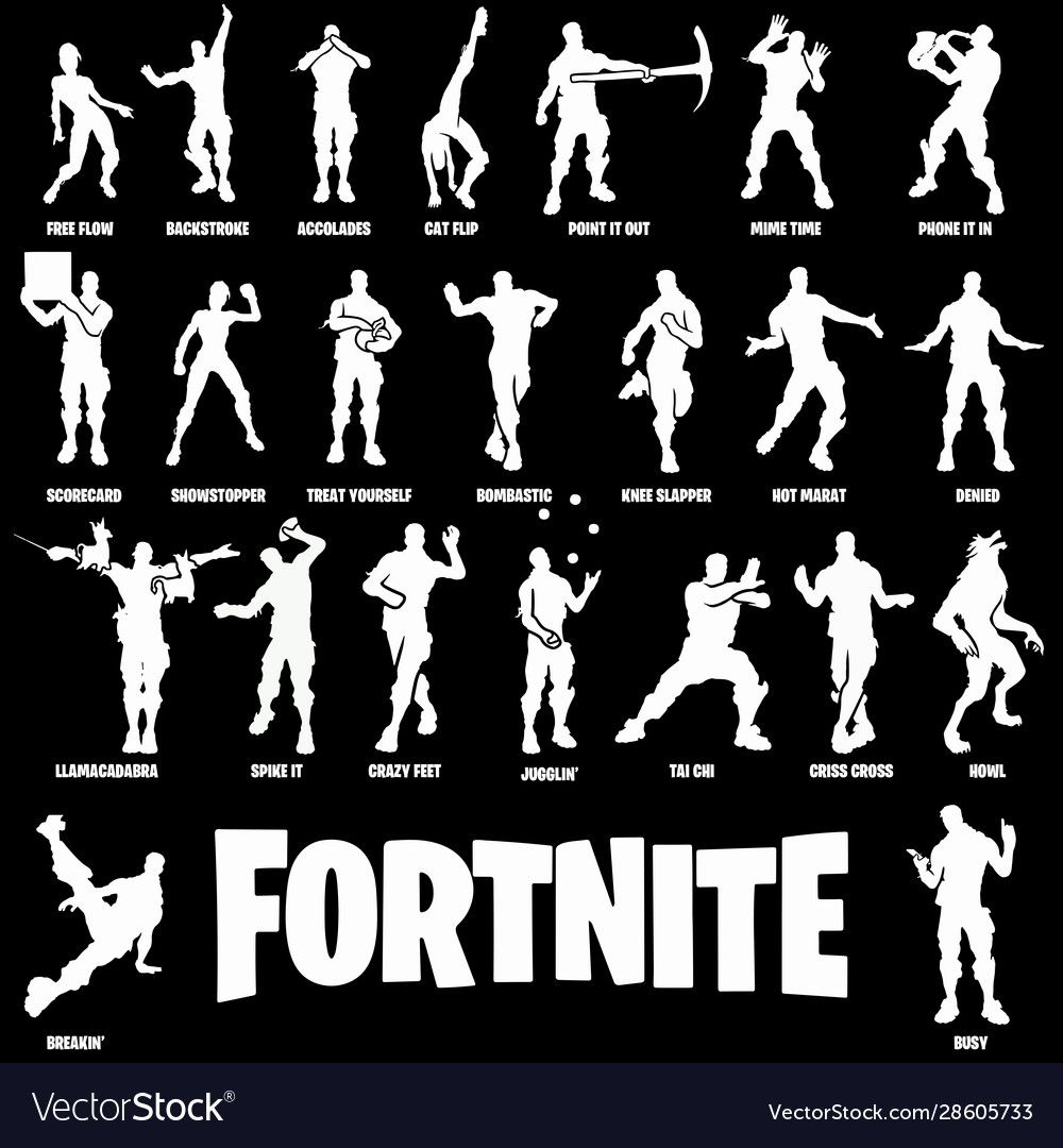 Fornite Character Dance Vector Image Download A Free Preview Or High Quality Adobe Illustrator Ai Eps Pdf And High Resol Character Dance Dance Vector Vector