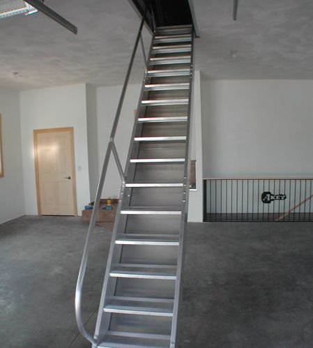 Photo Gallery for SafeStairway Installations; the best replacement for your narrow attic stairway u0026 flimsy & Photo Gallery for SafeStairway Installations; the best replacement ...