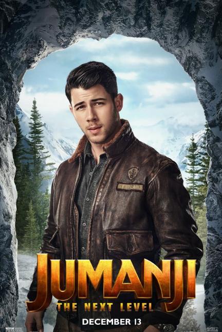 Pelispedia Jumanji3 Siguiente Nivel Pelicula 2019 Completa En Espanol Latino Online Nick Jonas Poster Netflix