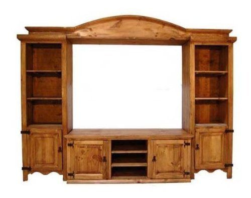 "4 Piece TV Wall Unit-Large-60"" by Million Dollar Rustic. $1199.00. A four piece entertainment center. Available with stars. Inside TV dimensions measure 60""W x 47""H. Pier shelves measure 13""H x 20.5""W x 17""D. Pier door space: 13""H x 20""W x 17""D Center console: shelves are 6""H x 17.5""W x 19"" D. Doors space: 19.5""H x 20""W x 20""D.. Save 30%!"