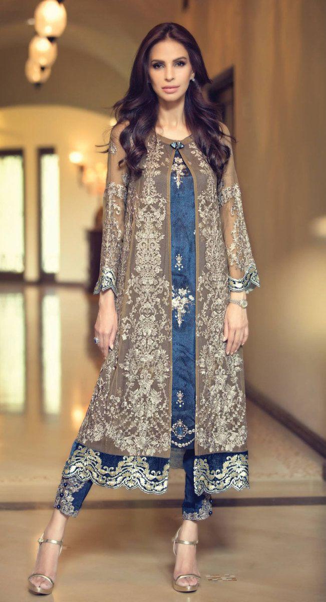 b7676a4ae9 Plus Size Chiffon Dresses By Pakistani Fashion Designers – Fashion Industry  Network