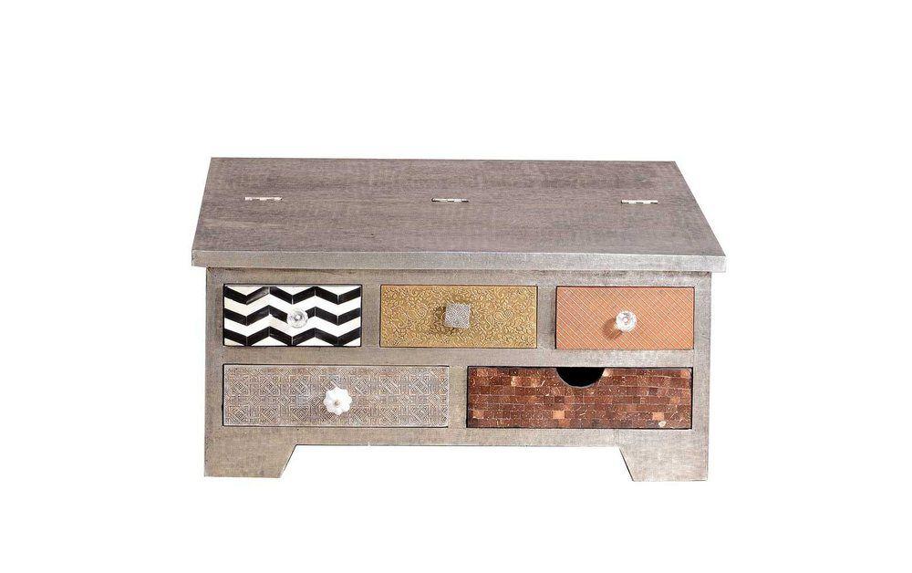 Tisch Batros Mit Truhe Truhe Couchtisch Echtholztisch