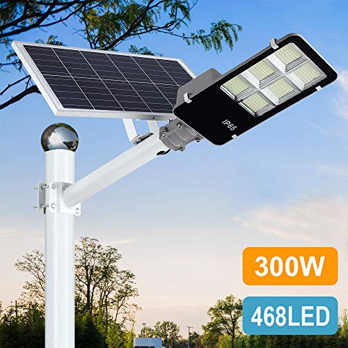 Super Bright Long Working 468 Super Bright Leds Have The Capability Of Producing Over 300w Light To Supply Lightening Solar Street Light Street Light Solar