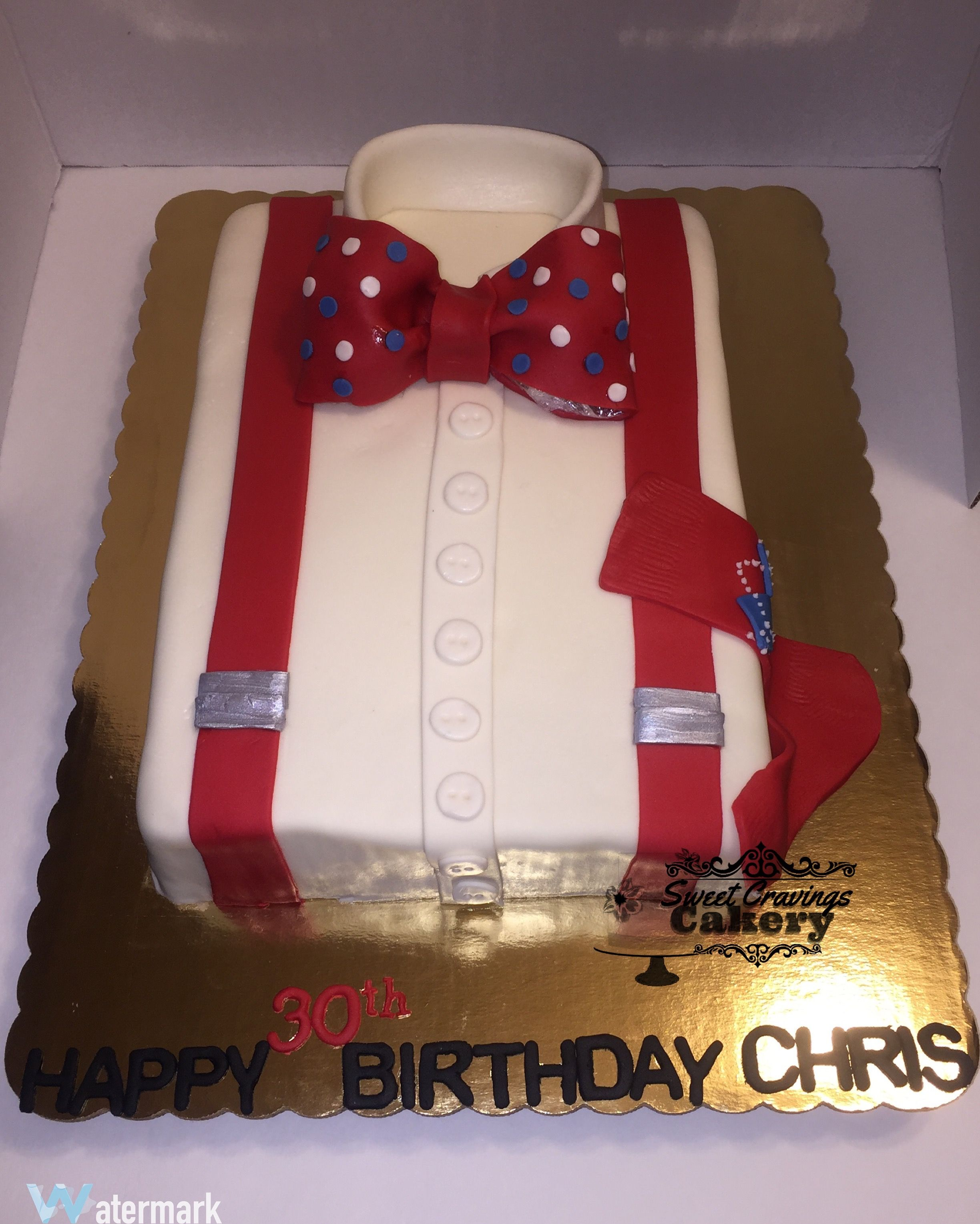 Shirt Cake Bow Tie Cake Classic Man Cake Sweet Cravings Cakery