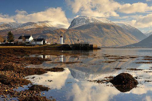 "Ben Nevis, Scottish Highlands. ""Beinn Nebheis from A' Chorpaich"" by Marcus Reeves on Flickr."