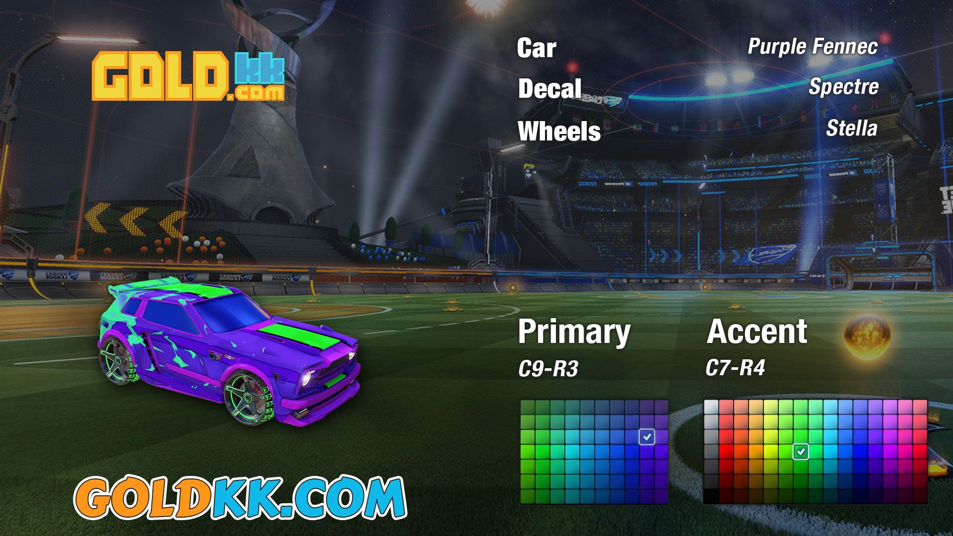 how to put a decal on a car in rocket league