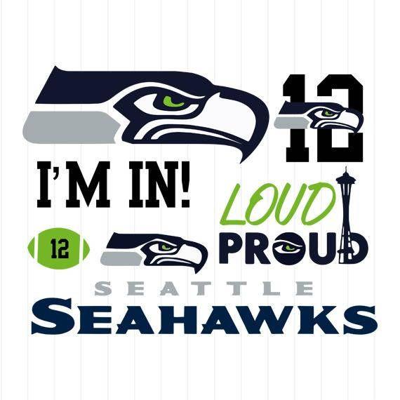 Instant Download Seattle Seahawks Svg Seattle Seahawks Svg